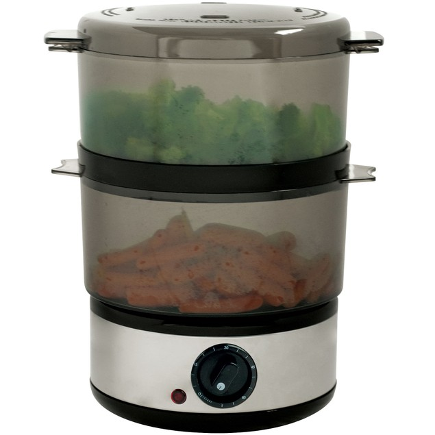 400 Watt Stainless Steel Food Steamer
