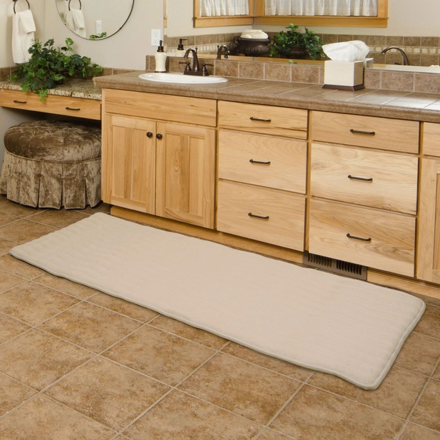 Lavish Home Memory Foam Extra Long Bath Mats