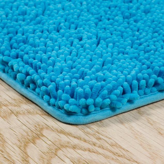 Lavish Extra Long Home Memory Foam Shag Bath Mat 2' X 5'