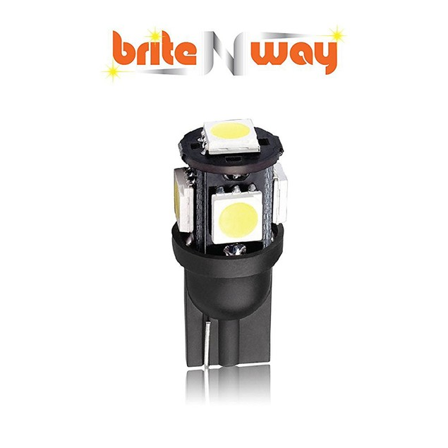 T10 Wedge Type - W5W 194 168 5050 5-SMD LED 12V Interior Car Light Bulbs