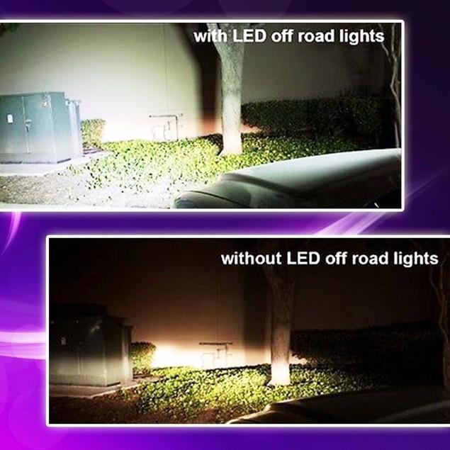 "Zone Tech 7"" Cree LED Bright Work Light 36w"