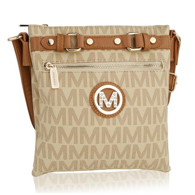 MKF Collection Sophie II Logo Cross body by Mia K Farrow