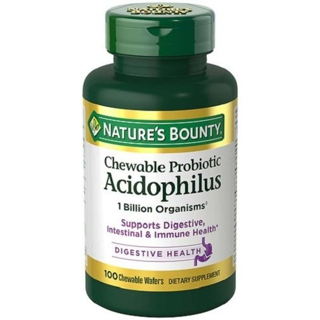 Nature's Bounty Chewable Probiotic Acidophilus
