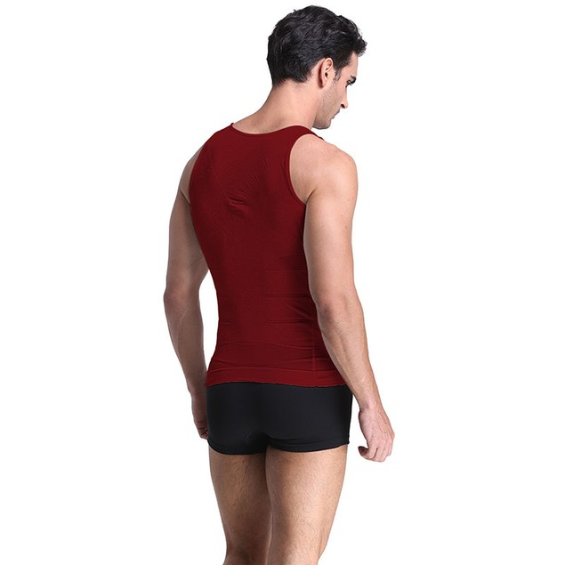 Men's Compression and Body-Support Undershirt