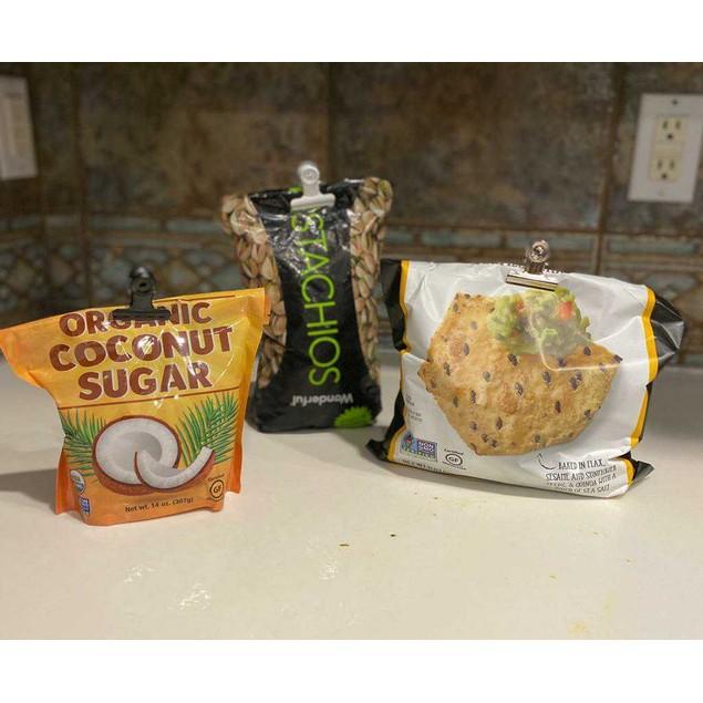 10, 20, 30 Pack Stainless Steel Food, Bag & Multi-Purpose Clips