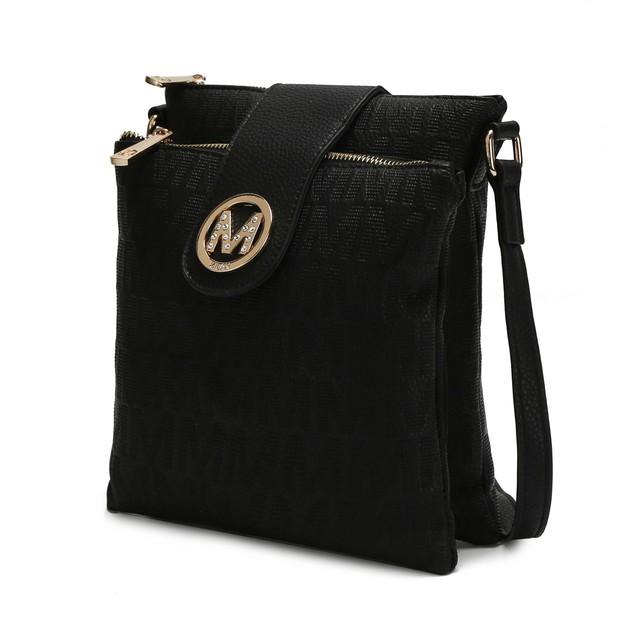 MKF Collection Marietta M Signature Crossbody Bag by Mia K.