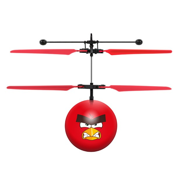 Rovio Angry Birds Movie IR UFO Ball Helicopter