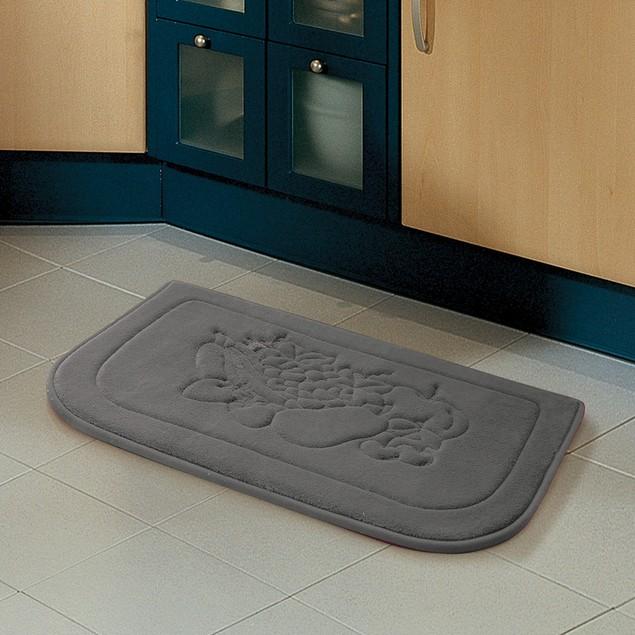 Embossed Chef Memory Foam 18x27 Kitchen Floor Mat Tanga