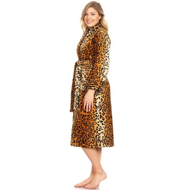 Super Soft Lounge Robe - Plus and Regular Sizes