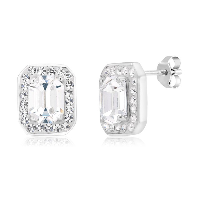 Halo Crystal Studs