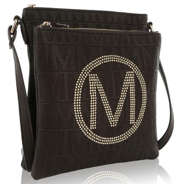 MKF Collection Genoa M Signature Crossbody Bag by Mia K