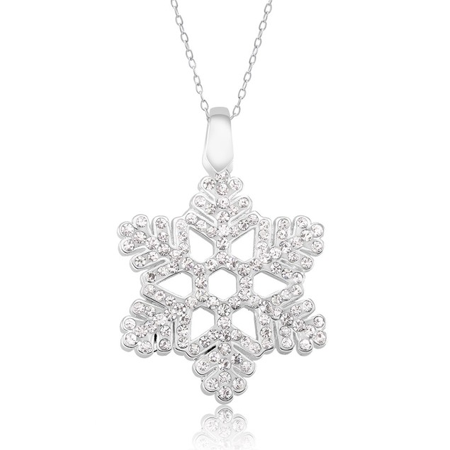 Crystal Snowflake Necklace