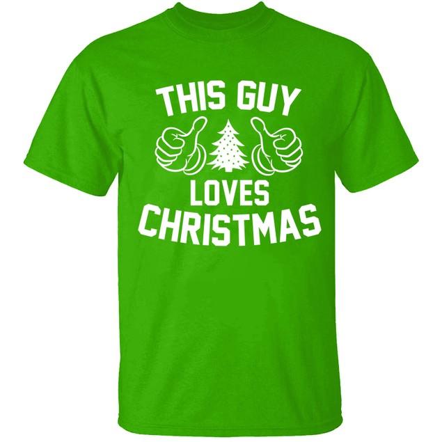 Men's Funny Dad Christmas T-Shirts