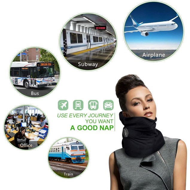 Travel Pillow Soft Neck Support