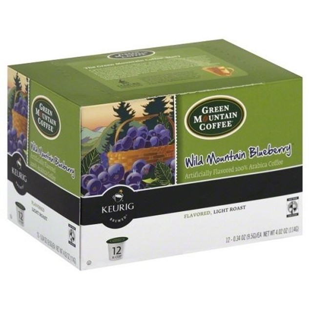 Green Mountain Coffee Wild Mountain Blueberry Keurig K-Cups 3 Pack