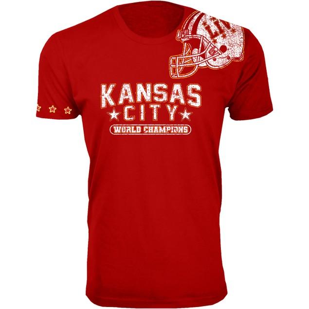 Men's Awesome KC Football Champions Shirts