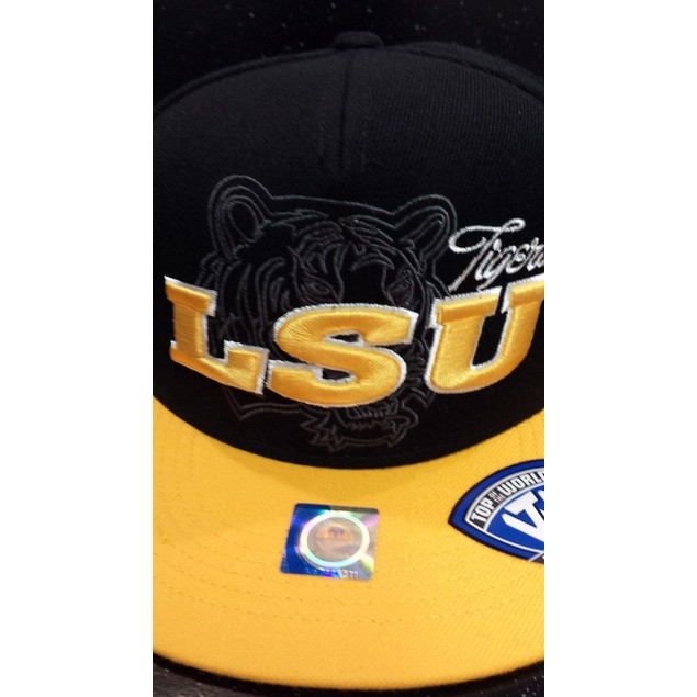"""LSU Tigers NCAA TOW """"Sublime"""" Strapback Hat"""