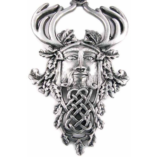 `Herne The Hunter` Pewter Pendant / Necklace Mens Pendant Necklaces