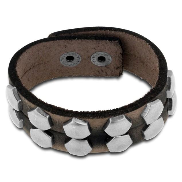Octavius Studded Double-Strand Bracelet