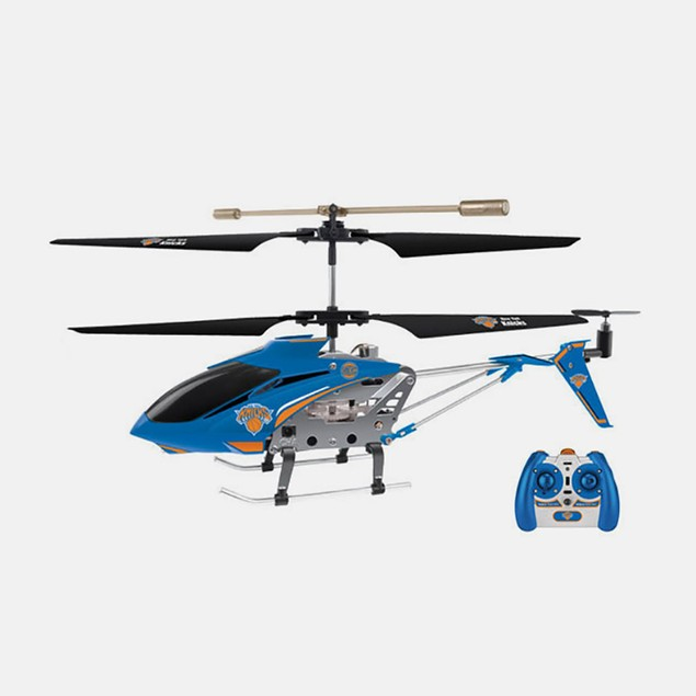 NBA Licensed New York Knicks RC Helicopter