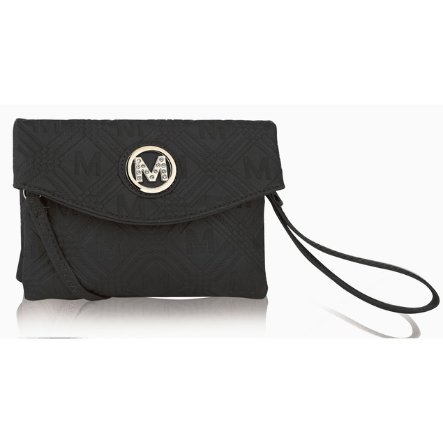 MKF Collection Anna Signature Wallet/ Wristlet by Mia K.