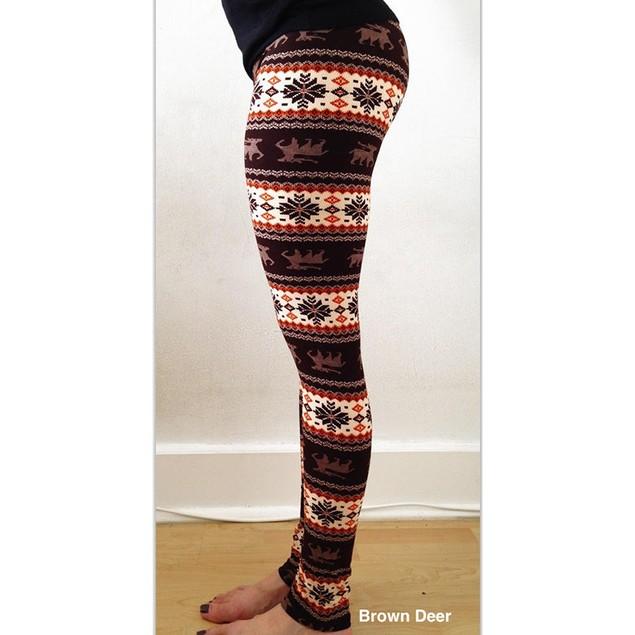 Lightweight Printed Leggings - Assorted Styles