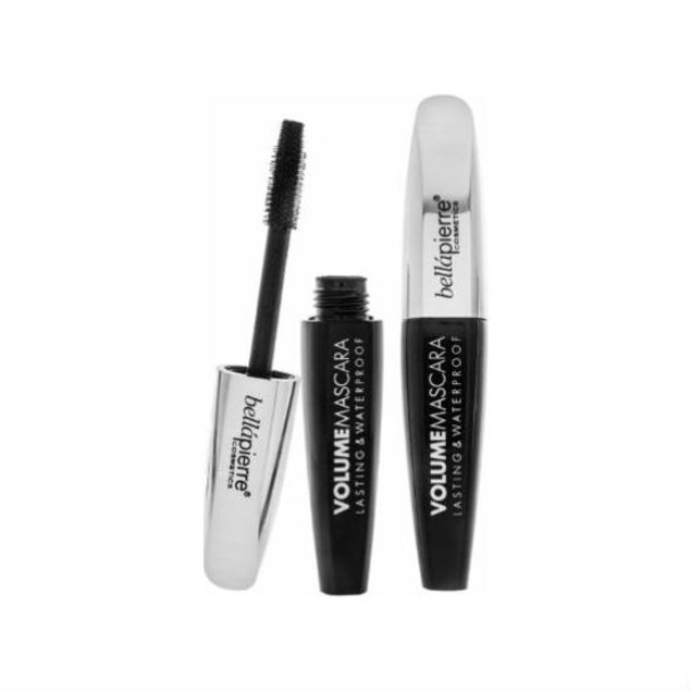 2-Pack BellaPierre Cosmetics Volume Mascara, Lasting & Waterproof, Black