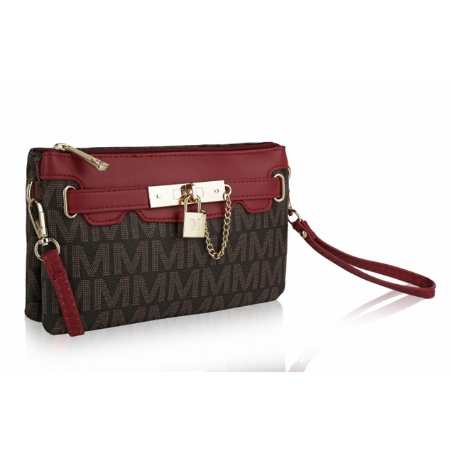 MKF Collection Carrisa M Cross Body Wristlet by Mia K.