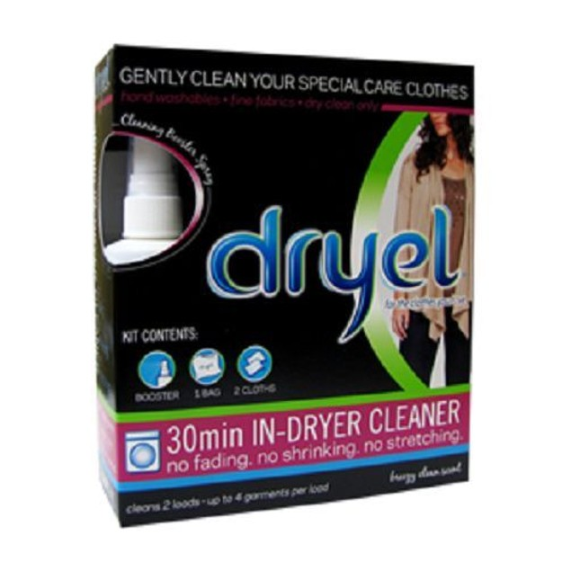 Dryel In Dryer Cleaning Starter Kit Clean Breeze Scent