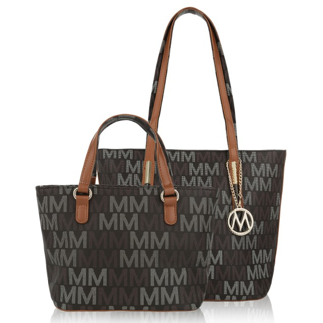 0a225a211cc0 MKF Collection Corinna Mommy & Me M Signature Totes - BelleChic