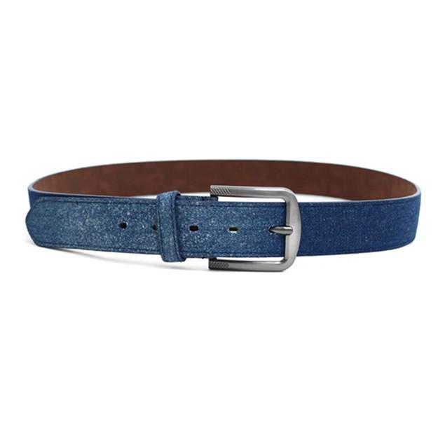 2-Pack Men's Parquet Jean Washed Denim Belts