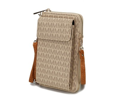 MKF Collection Mala Phone Wallet Crossbody by Mia K. Was: $139 Now: $19.99.