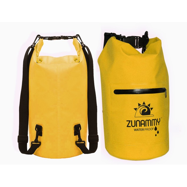 Waterproof Floating Duffel Dry Bag W/ Shoulder Strap, and Zipper
