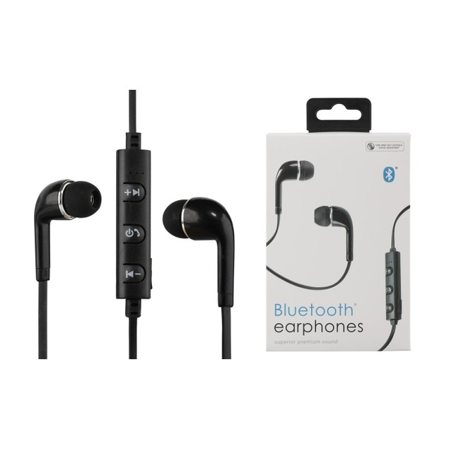 2-Pack Vivitar In-Ear Wireless Bluetooth Earbuds with Mic