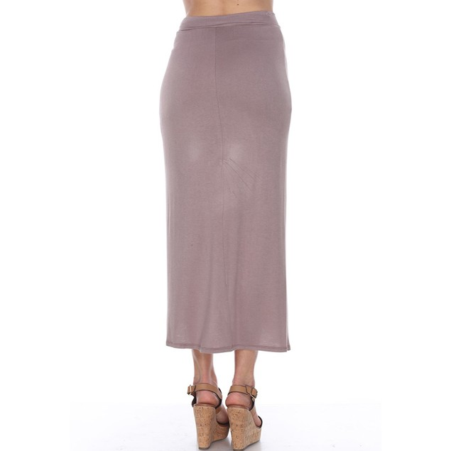 White Mark Universal Wrap Midi Skirt - 5 Colors