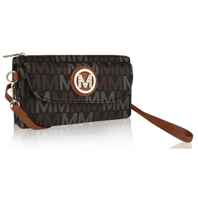 MKF Collection Madelyn Milan M Signature Cross Body by Mia K