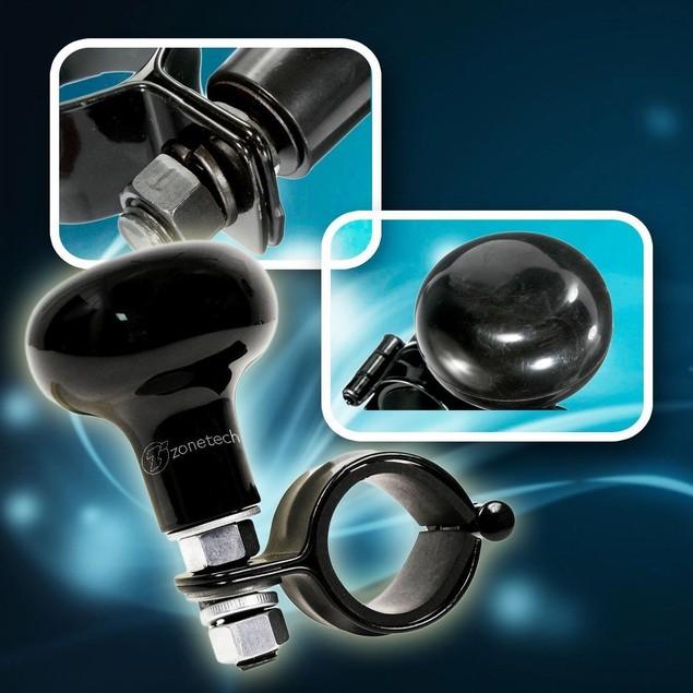 Zone Tech Heavy Duty Suicide Knob Car Black Steering Wheel Spinner Handle