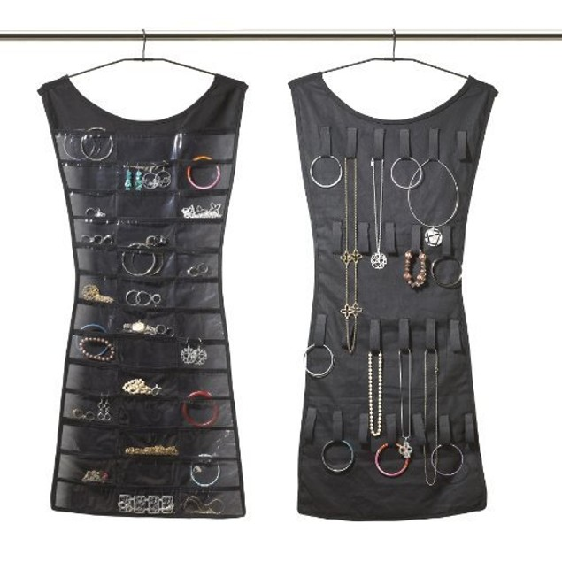 Hanging Dress Jewelry Organizer