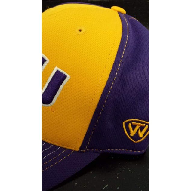 """LSU Tigers NCAA TOW """"Goal Line"""" Stretch Fitted Hat"""
