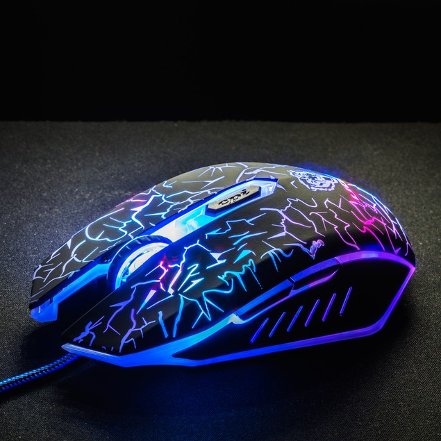 Liger 3200 DPI Gaming Mouse for PC, 6 Button