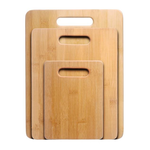 Nuvita Bamboo 3-Piece Bamboo Cutting Board Set