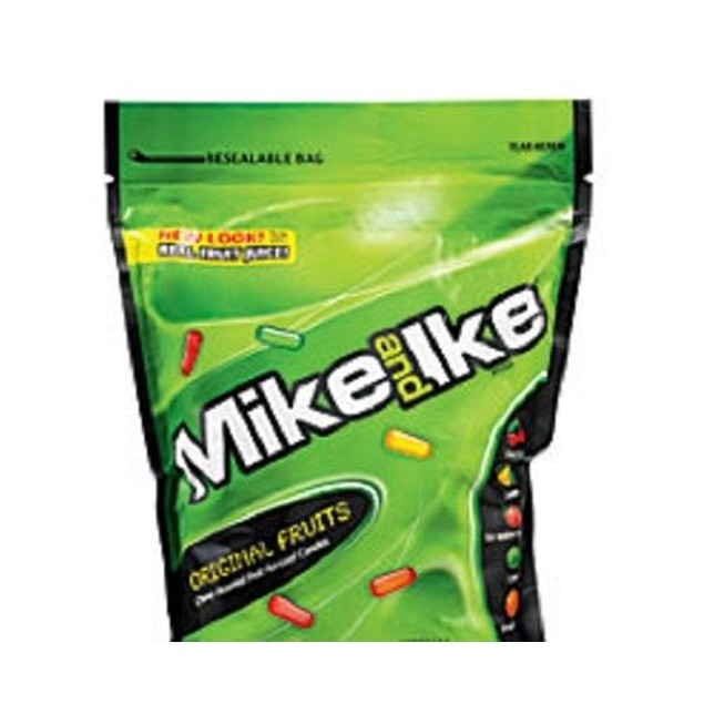 Mike and Ike Chewy Original Fruit Flavored Candies