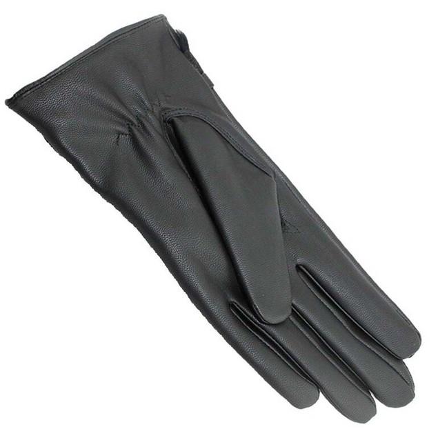 iPM Women's Winter Faux Fur & Wool Smart Phone Magic Touch Screen Gloves