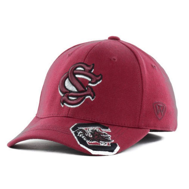 """South Carolina Gamecocks NCAA TOW """"Shimmering"""" Stretch Fitted Hat"""