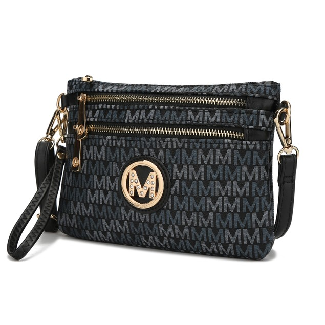 MKF Collection Cherry M Signature Cross Body Wristlet by Mia K.