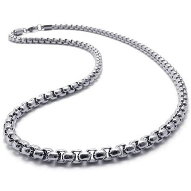 316L Stainless Steel Men's Comfort Fit Chain