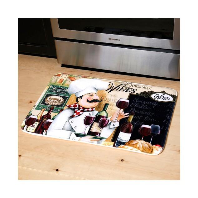 "Cushioned 20"" x 30"" Anti-Fatigue Kitchen Mats"