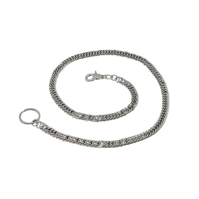33 Inch Polished Chain Link Wallet Chain Mens Wallet Chains