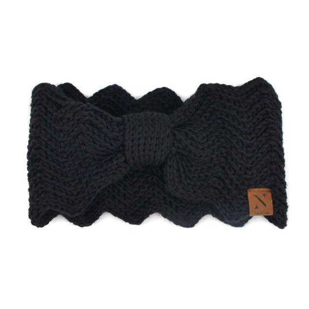 Women's Knotted Knit Winter Head Band