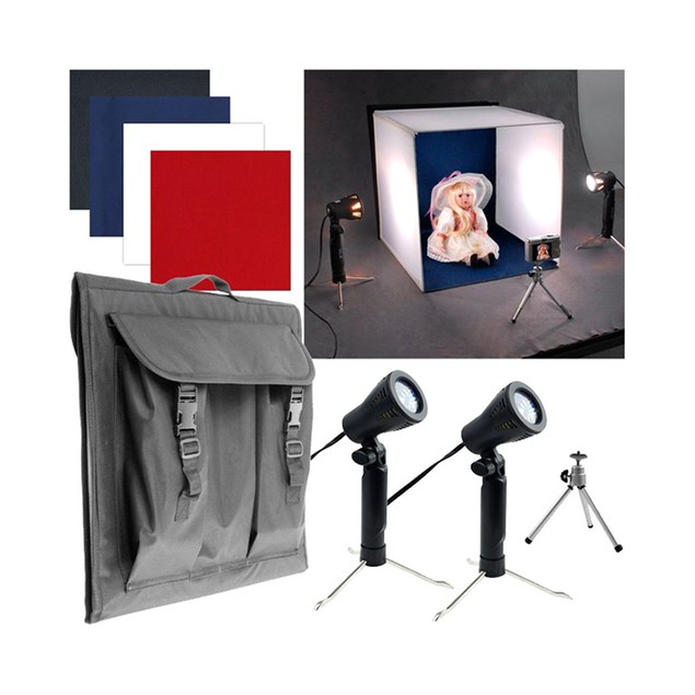 Deluxe Table Top Photo Studio - Photo Light Box